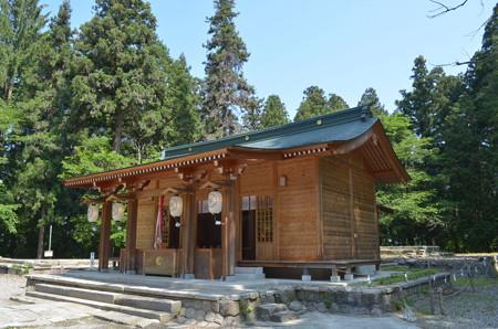 伊佐須美神社・仮拝殿