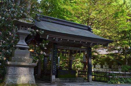 伊佐須美神社・手水舎