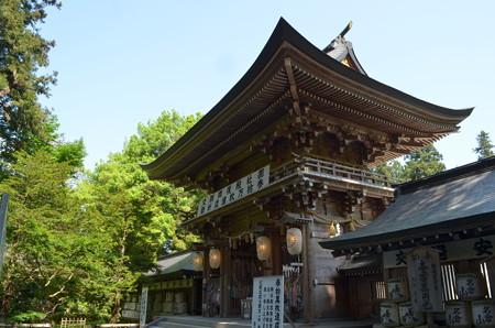 伊佐須美神社・楼門