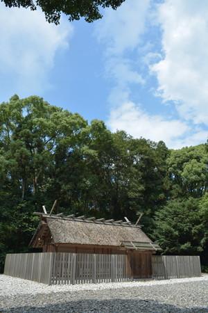 神麻続機殿神社 - 八尋殿2