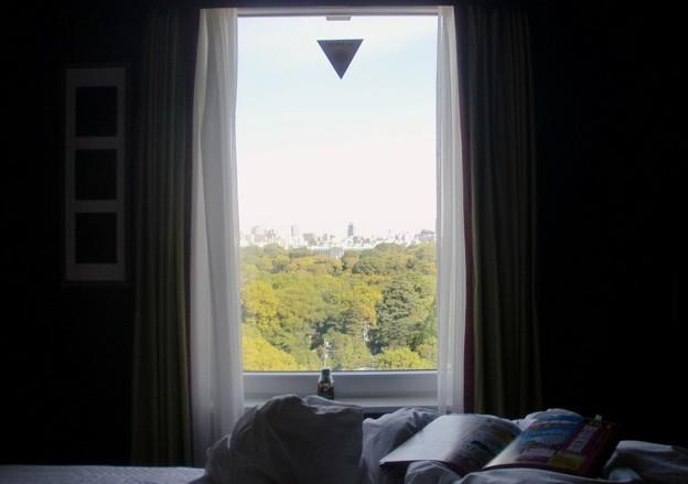 ホテルの朝