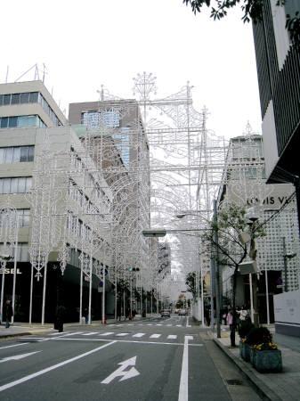ルミナリエ歩道(出発点)
