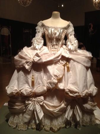 フランス風ドレス