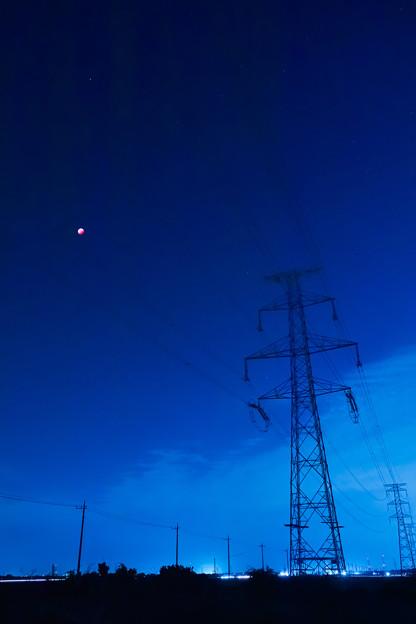 赤き月と鉄人