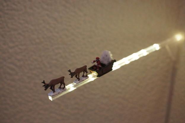 写真: サンタ号@2012クリスマス