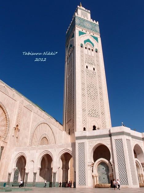 ハッサン2世モスク。