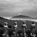 富士山と六地蔵