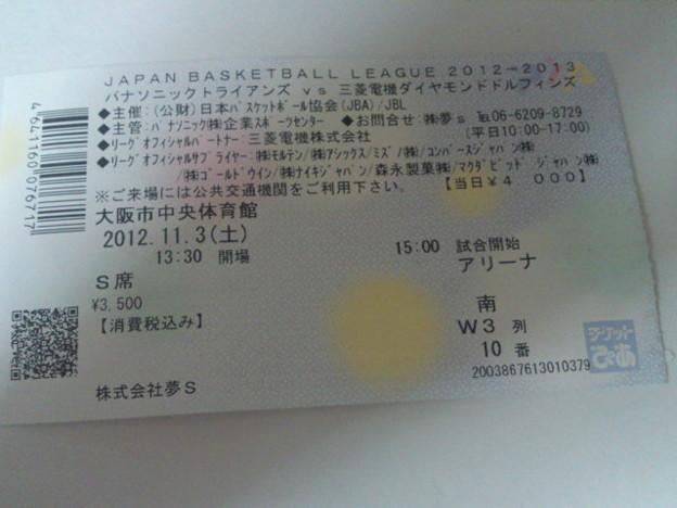 当日券をゲットンしました。