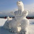室蘭・第3回雪像ゆきまつり.15