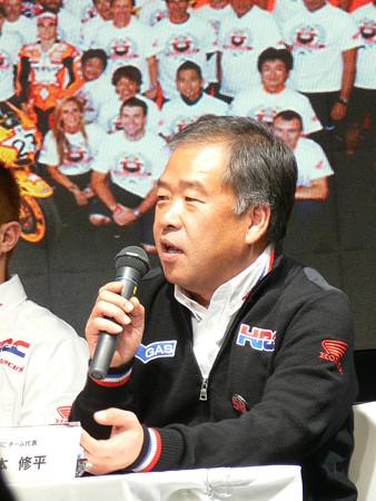 9999_MotoGP 2011 HRCチーム代表 中本修平氏
