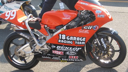 180 99 中本 貴也 18 GARAGE RACING TEAM NSF250R