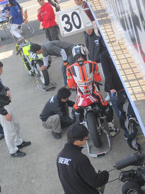 写真: 444 70 葛西 雅迪 タニシ&Speed Heart YERC NSF250R