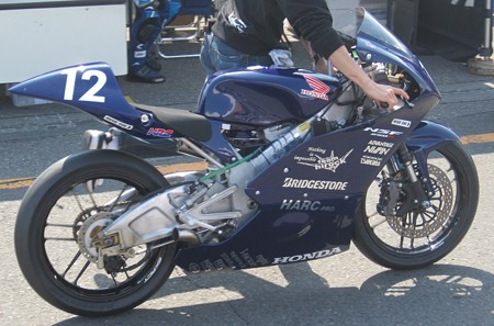 451 12 薮田 壱速 team hirock & HARC-PRO NSF250R