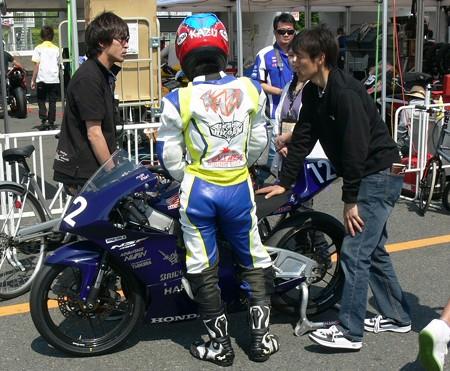 454 12 薮田 壱速 team hirock & HARC-PRO NSF250R