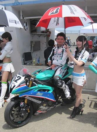 398 2012 62 横江 竜司 RT 森のくまさん佐藤塾 YZF-R6