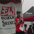 写真: 29_2005_atushi_watanabe_yoshimura_suzuki_jomo_with_srixon_racing_team