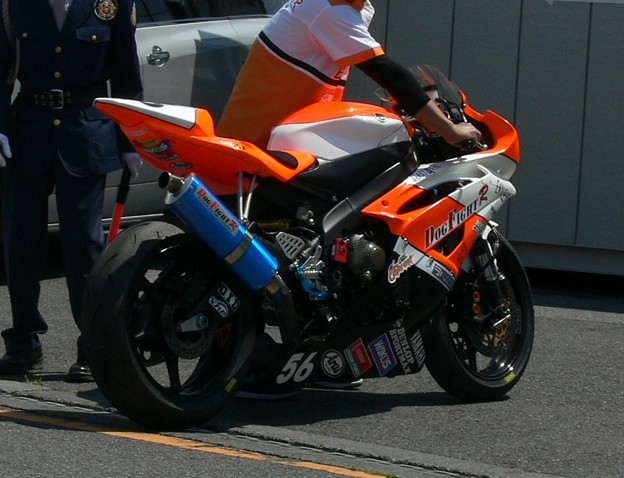 601  2012 56 阿久津 晃輝 DOG FIGHT RACING・YAMAHA YZF-R6