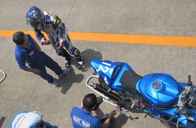 写真: 16 2013 J_GP2 12 中本 郡 レーシングチーム OutRun YZF-R6
