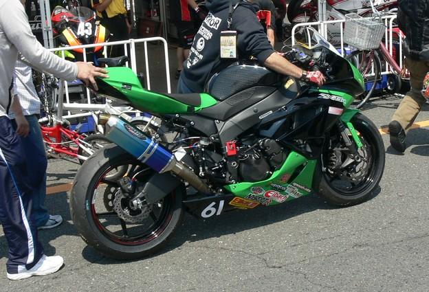 写真: 643 2012 61 鈴木 貴雄 Racing Discover ZX-6R P1200642
