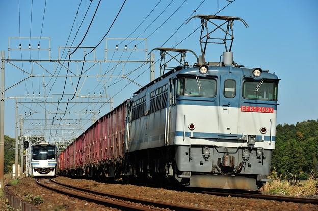 EF652097牽引鹿島貨物96列車