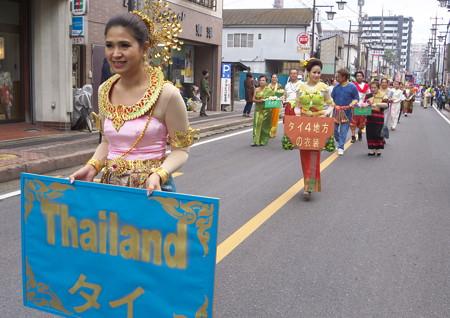 パレードが始まりました。