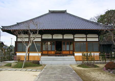 菩提寺の本堂