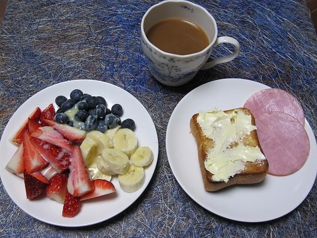Photos: 今朝の食事(1・6)
