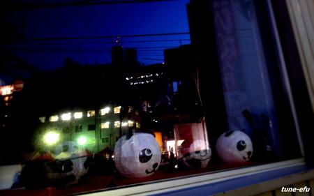 窓際のパンダ