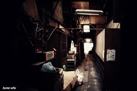 トンネル長屋