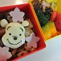 写真: クマのプーさんやきそば弁当
