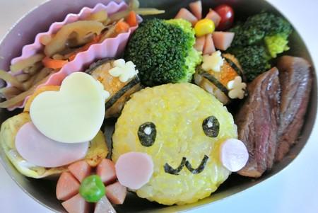 うーたんおにぎり弁当(NHK「いない いない ばあ」)
