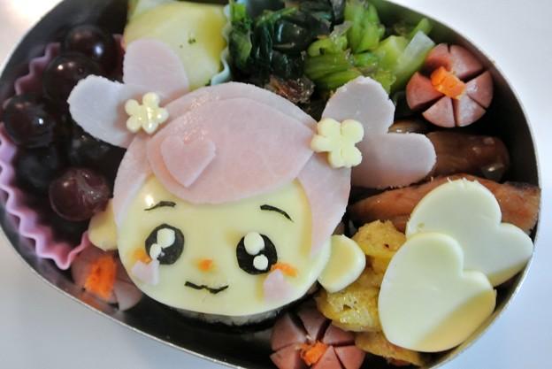 写真: アイちゃんおにぎり弁当(アニメ「ドキドキプリキュア」より)