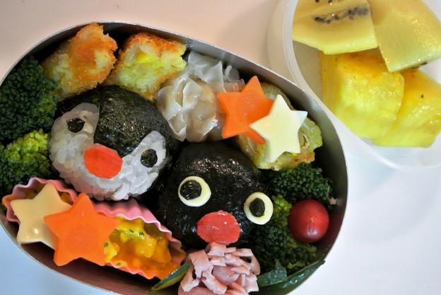 写真: ピングー&ピンガちゃんおにぎり弁当