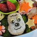 写真: 「ワンワンおにぎり弁当」(NHK「いないいないばぁ」より