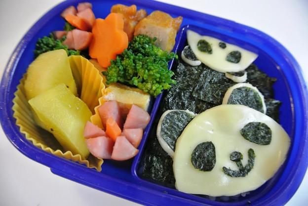 写真: パンダさんの詰め弁