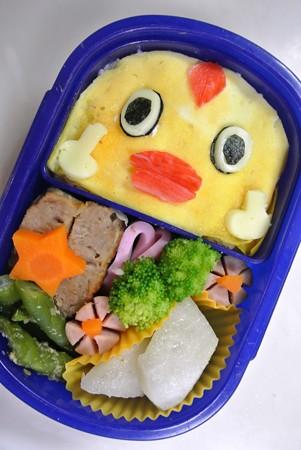 「そらジロー(日テレ天気予報マスコットキャラ)弁当」