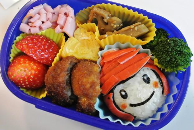 写真: 11月25日(月)「アユミンおにぎり弁当」