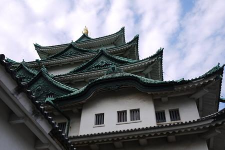 名古屋城を見上げる