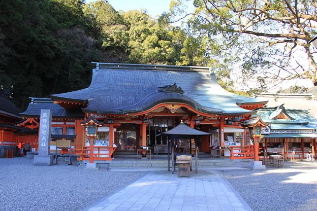 熊野那智大社(拝殿)