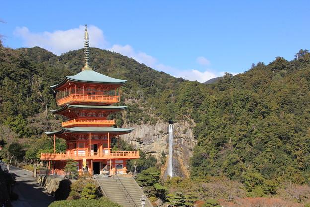 那智山青岸渡寺(三重塔)&那智大滝