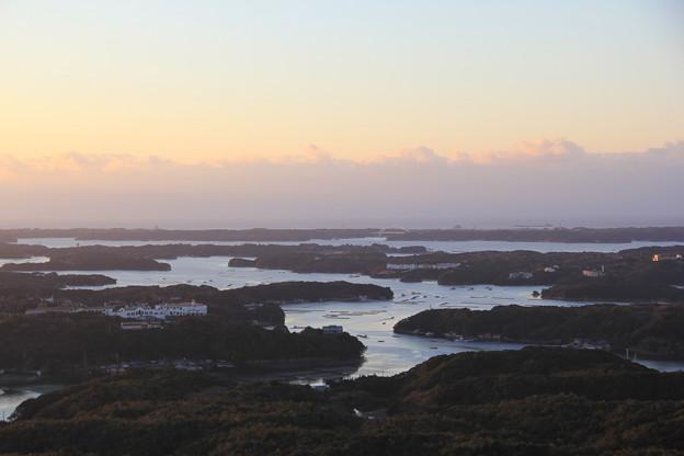 夜明けの英虞湾