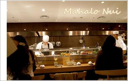 ハル ヤマシタさんの調理場風景