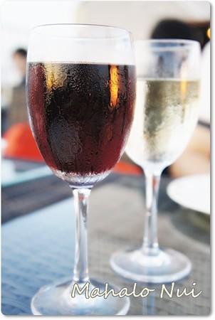 紅白のスパークリングワイン