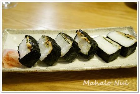 お土産の蒸しあなご寿司