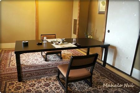 個室の部屋