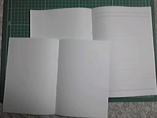 コピー用紙ノート