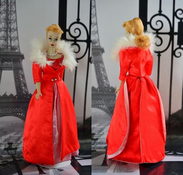 Vinatage Barbie  in Paris