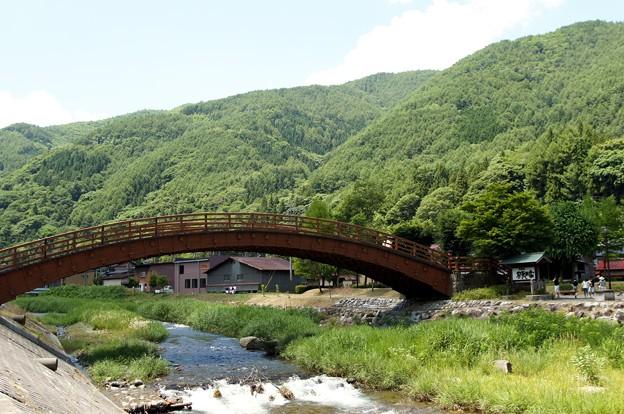 奈良井宿_木曽の大橋