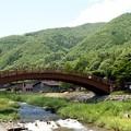 写真: 奈良井宿_木曽の大橋