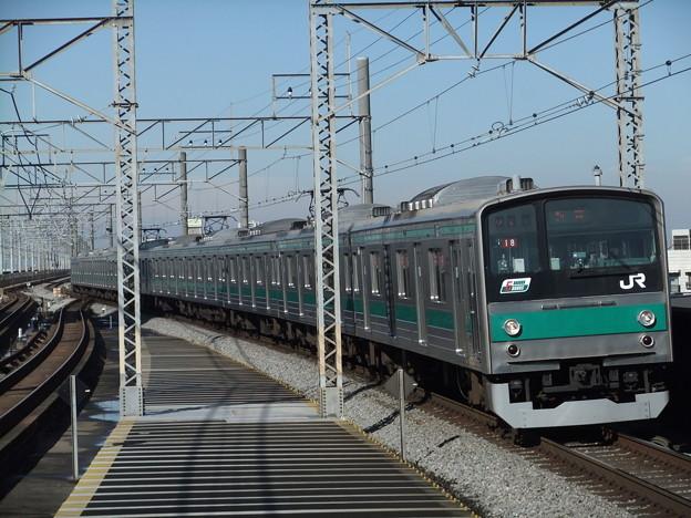 Photos: 埼京線205系0番台 ハエ18編成